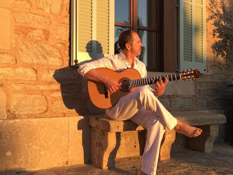 Spanish guitar mallorca